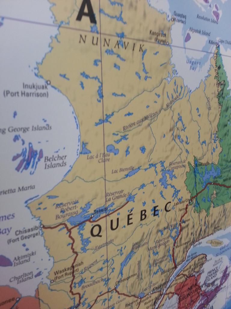 Karta Pa Kanada.Kanada Kartkungen