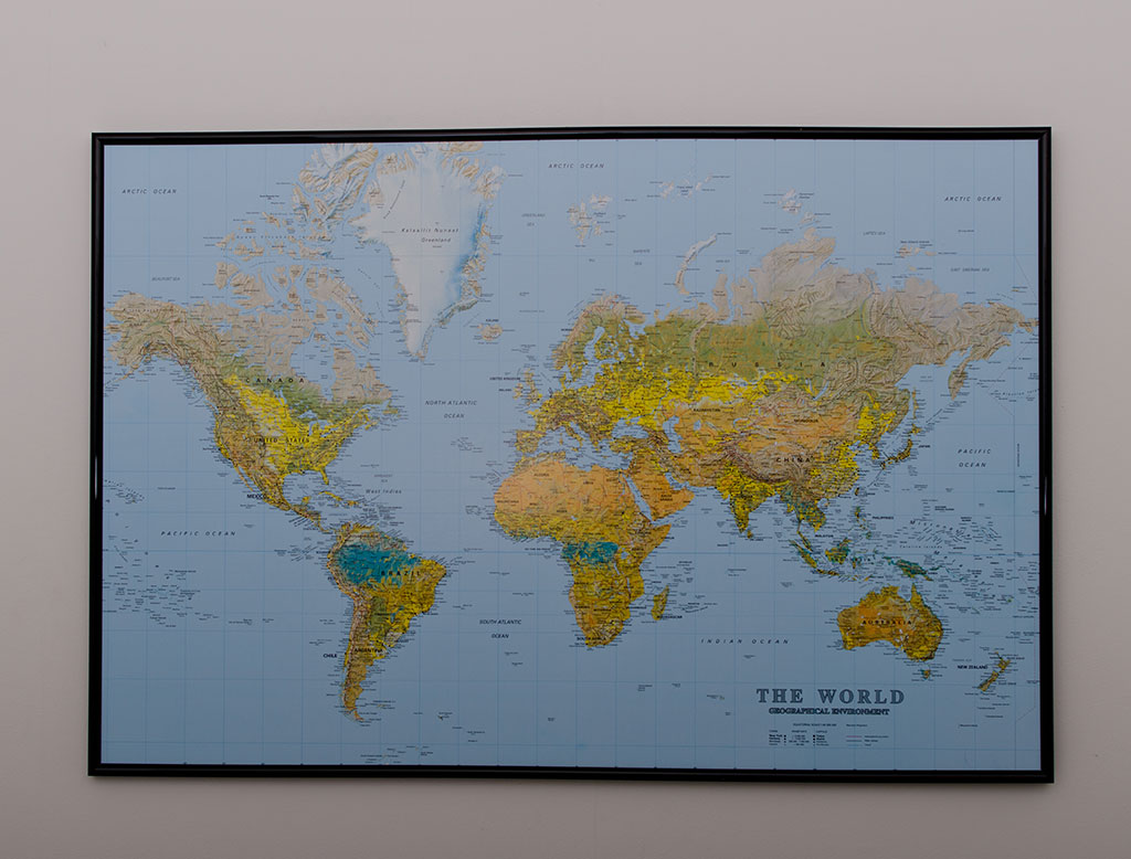 Big the world world map pinboard king big the world world map gumiabroncs Gallery