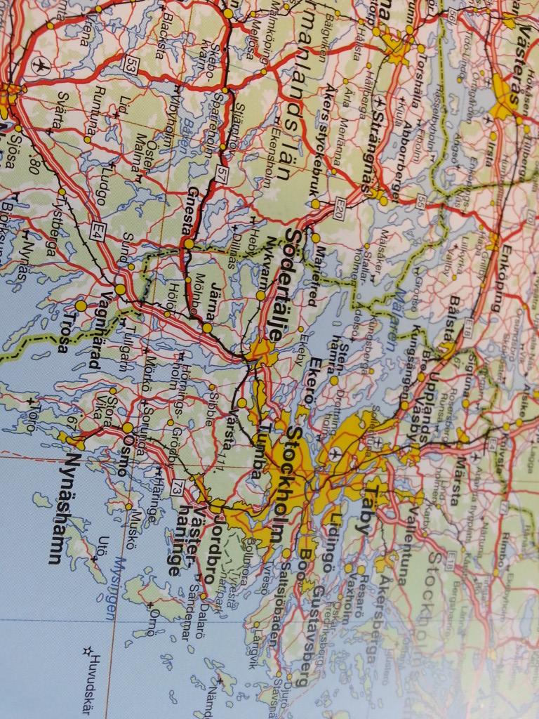 Sverigekarta Kartkungen