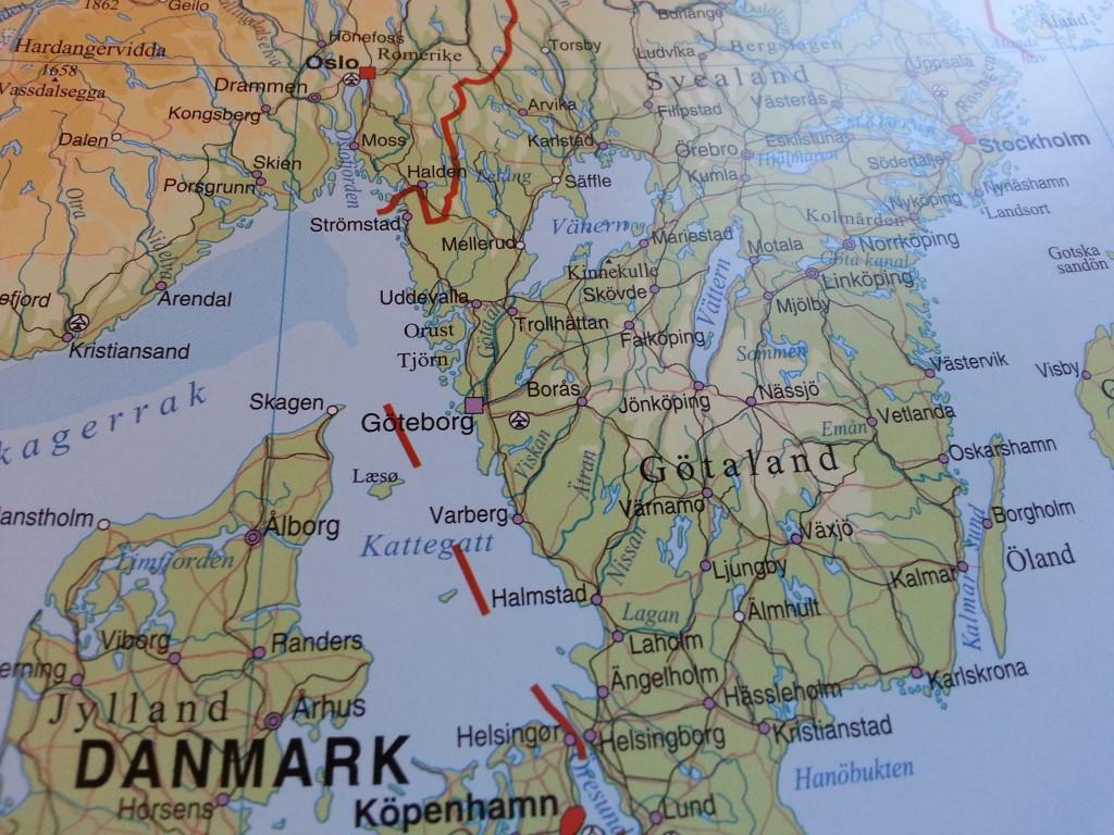 karta över skagen danmark Europakarta Norstedts   Kartkungen karta över skagen danmark