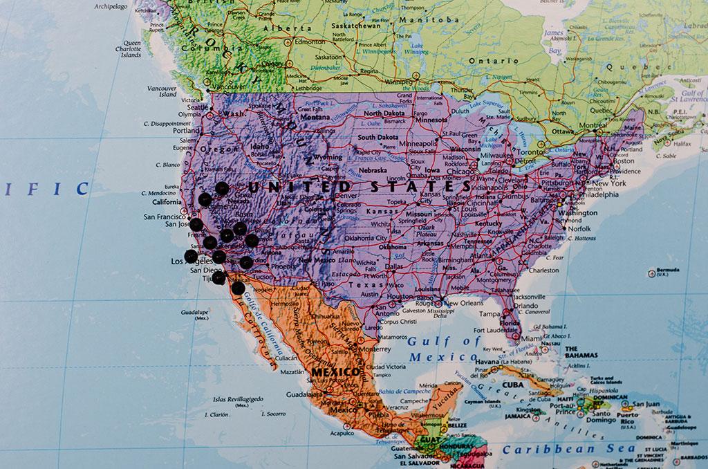 stor karta över världen Stor världskarta Klassisk   Kartkungen stor karta över världen