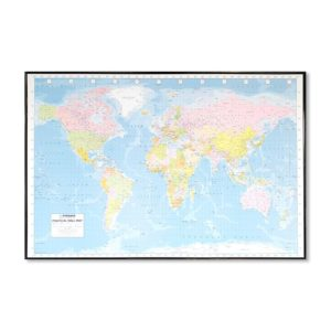 pinboard world map