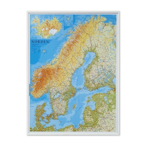 karta-norden-tavla-nal-vit-ram-01