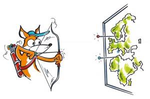 kartkungen karta för nålmarkering pinboard map logo
