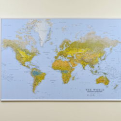 Big The World world map