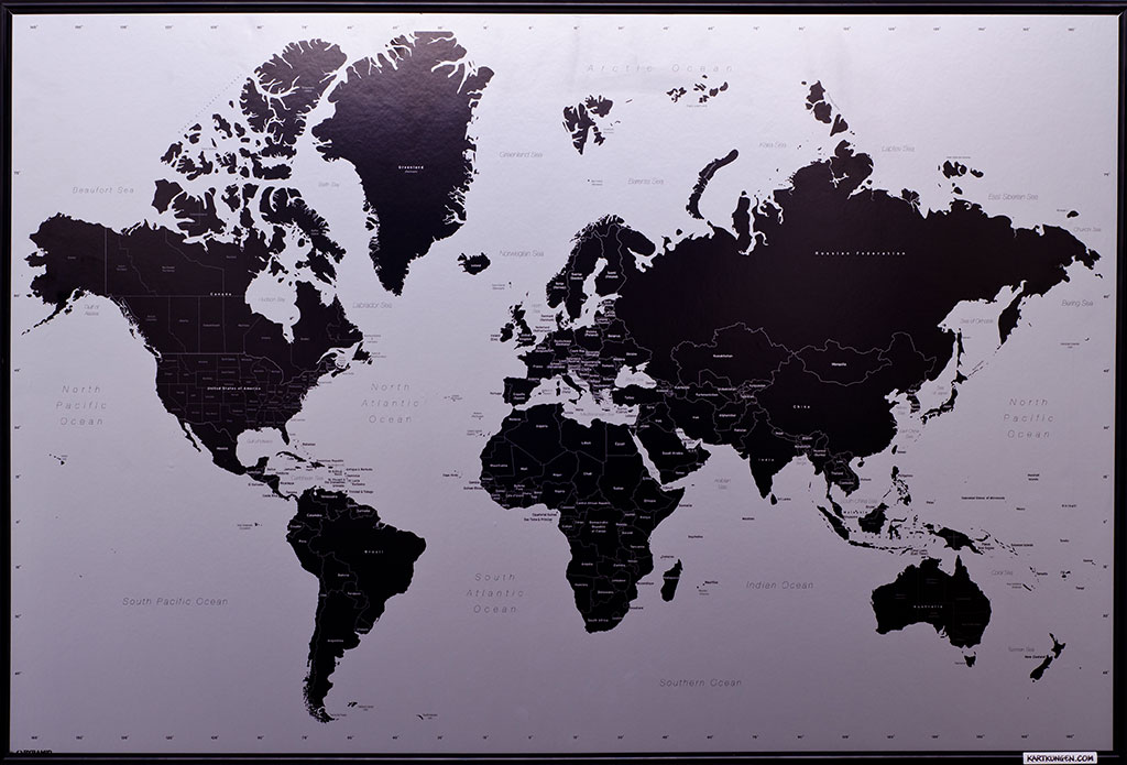 Big modern world map pinboard king big modern world map gumiabroncs