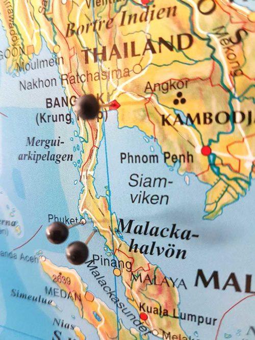 Karta för Kartnål - Kartkungen