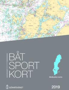 Båtsportkort katalog Västkusten Norra Svinesund-Måseskär 2019 Kartkungen Sjökort