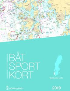 Båtsportkort katalog Västkusten södra 2019 Kullen-Måseskär-Kartkungen Sjökort