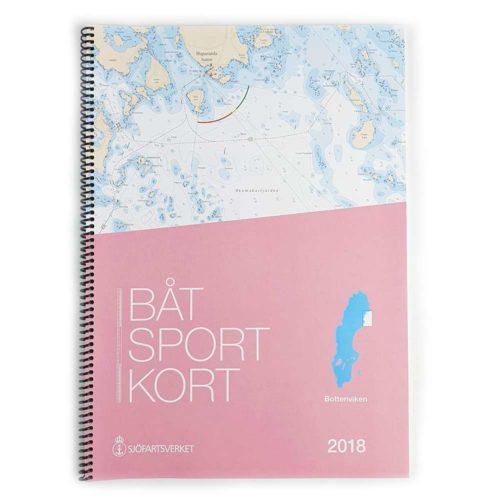 Båtsportkort Sjöfartsverket Bottenviken Framsida Haparanda-Sikeå Kartkungen