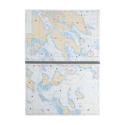 Båtsportkort Sjöfartsverket Bottenviken Haparanda-Sikeå Kartkungen