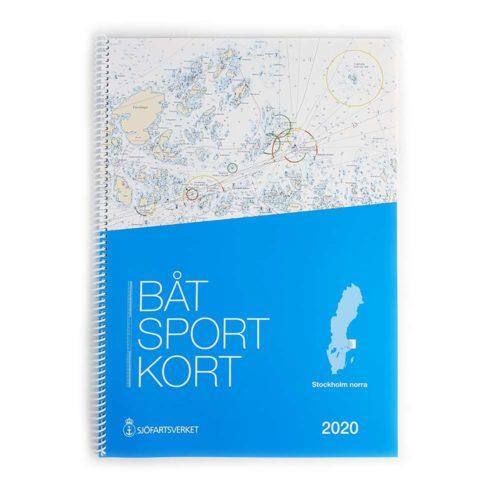 Båtsportkort Sjöfartsverket Stockholm Norra framsida Öregrund-Möja Kartkungen