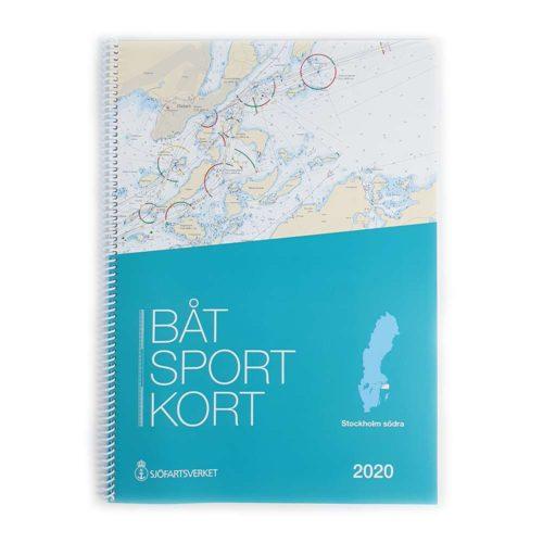 Båtsportkort Sjöfartsverket Stockholm Södra Framsida Dalarö-Trosa Kartkungen
