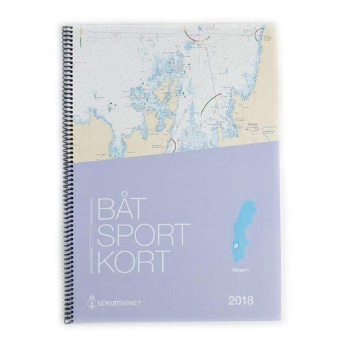 Båtsportkort Sjöfartsverket Vänern Framsida Kartkungen