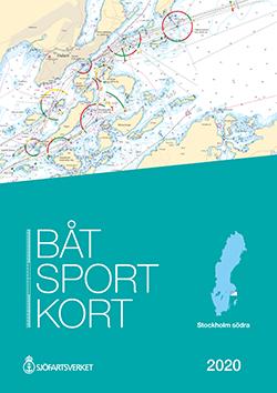 Båtsportkort Stockholm södra katalog Dalarö-Trosa- Kartkungen sjökort