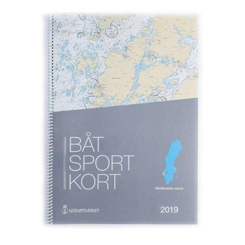 Båtsportkort Västkusten Norra Svinesund-måseskär Framsida Kartkungen