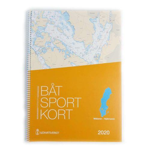 Båtsportkort katalog Mälaren och Hjälmaren Framsida Kartkungen