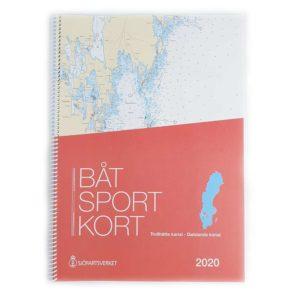 Båtsportkort katalog Trollhätte kanal och Dalslands kanal Framsida Kartkungen