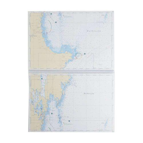 Båtsportkort katalog Trollhätte kanal och Dalslands kanal Vänersborg Kartkungen