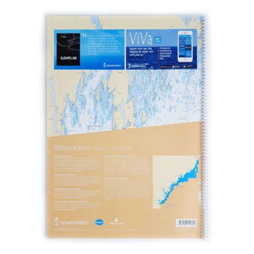 Båtsportkort sjöfartsverket Norra Bottenhavet Sikeå Sundsvall (2)