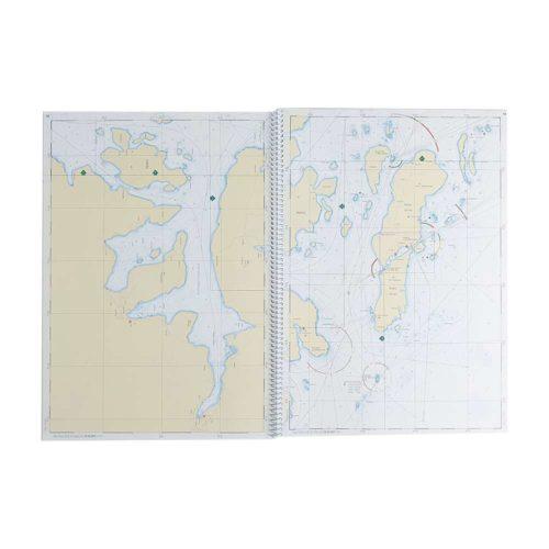 Båtsportkort sjöfartsverket Norra Bottenhavet Sikeå Sundsvall (3)