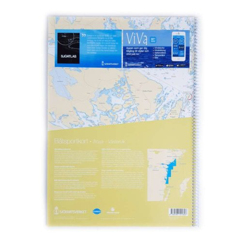 Båtsportkort sjöfartsverket Ostkusten Trosa Öregrund (3)