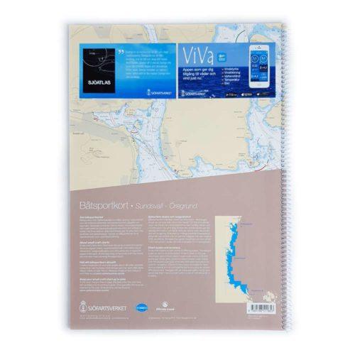 Båtsportkort sjöfartsverket Södra Bottenhavet Sundsvall Öregrund (2)