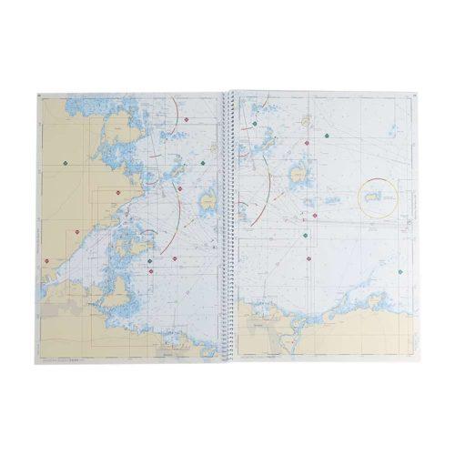 Båtsportkort sjöfartsverket Södra Bottenhavet Sundsvall Öregrund (3)