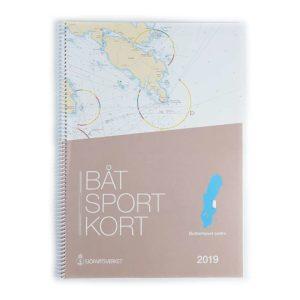 Båtsportkort sjöfartsverket Södra Bottenhavet Sundsvall Öregrund