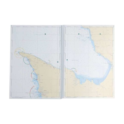 Båtsportkort sjöfartsverket Västkusten Södra Måseskär-kullen Kartkungen (2)