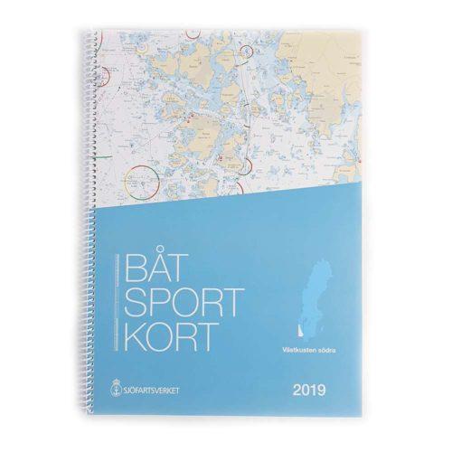 Båtsportkort sjöfartsverket Västkusten Södra Måseskär-kullen Kartkungen