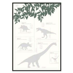 Poster-50x70-Frank-Poppy-Dinos