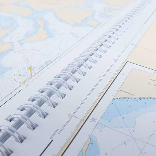 Svensk sjöatlas uppslag alla sjökort över Sverige Kartkungen