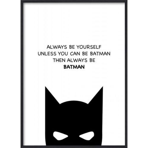 Poster 30x40 Barnmotiv Batman