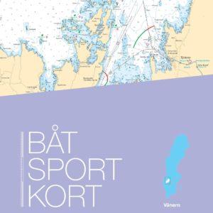 Båtsportkort Vänern 2018 Kartkungen Sjökort