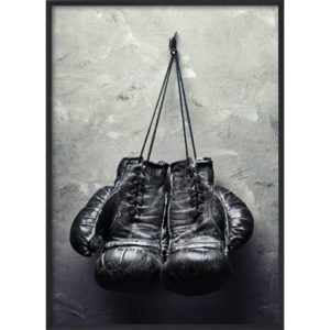 Poster_30x40_Black_Boxing_Gloves
