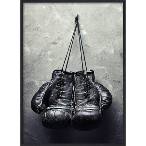 Poster_30x40_Black_Boxing_Gloves