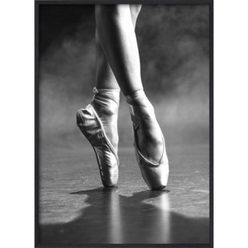 Poster 30x40 B&W Dancing floor