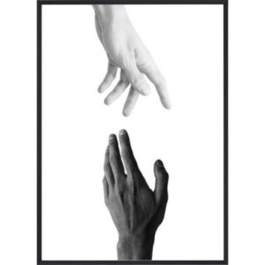 Poster-50x70-BW-Hands-Reach