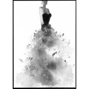 Poster-30x40-BW-Dress