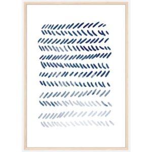 Poster-30x40-Blue-Art-No-2