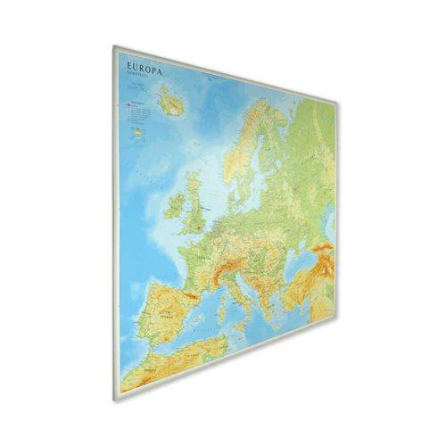 Stor karta över Europa för markering med nålar - Kartkungen