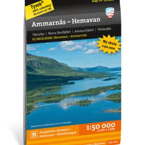 Karta Kungsleden: Ammarnäs – Hemavan 9789188335340