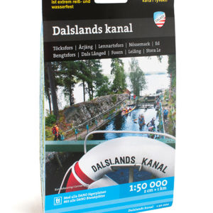 Karta Dalslands kanal kartkungen