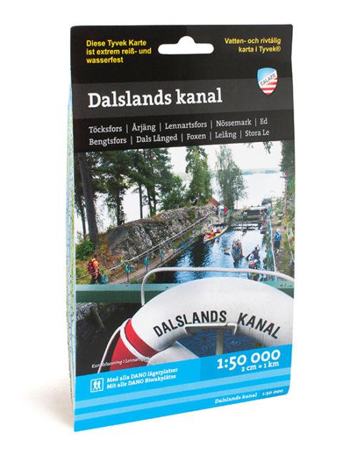 Karta Dalslands kanal calazo kartkungen artikelnummer 9789186773342