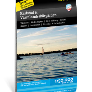 Karlstad och Värmlandsskärgården kartkungen