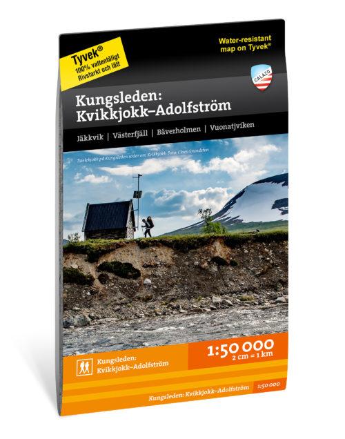 Karta Kungsleden Kvikkjokk–Adolfstrom artnummer 9789188779939
