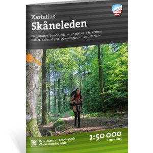Kartatlas Skåneleden calazo förlag kartkungen 9789188779472