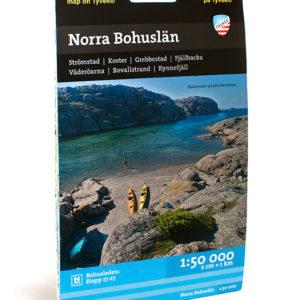 Karta över norra Bohuslän kartkungen artikelnummer 9789186773120