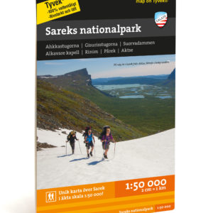 karta sarek nationalpark 9789188335326